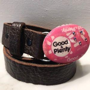 Accessories - HP!  Leather Good & Plenty Belt NWOT!
